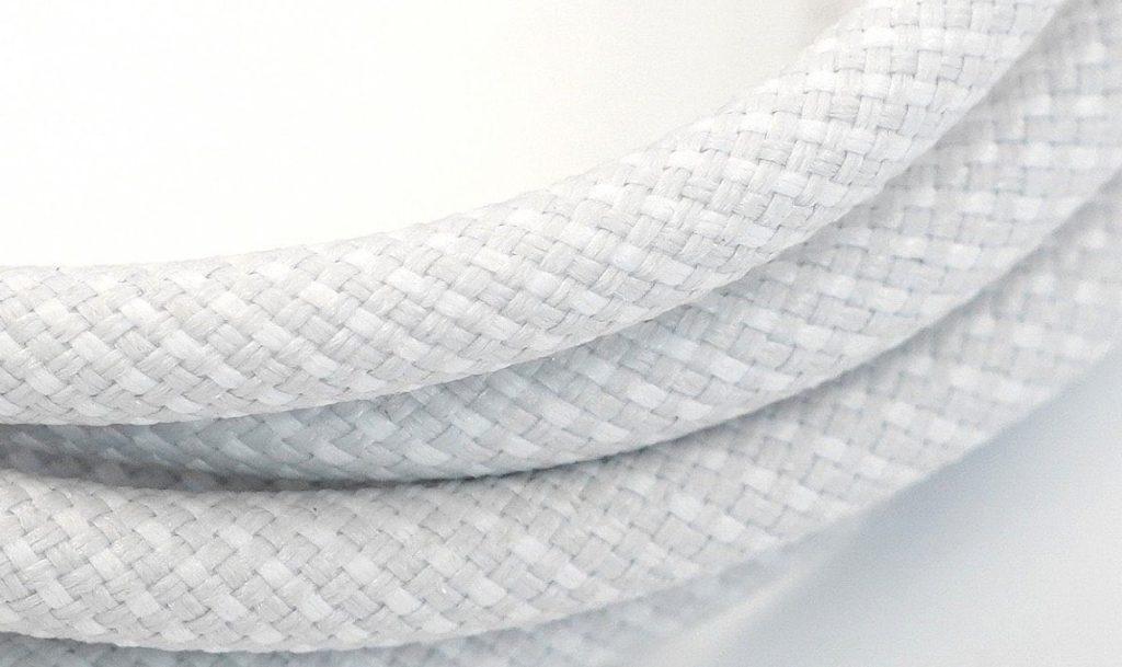 以紡織物料包裹會令線材更耐用