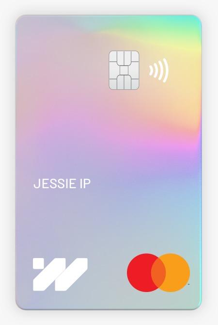 無卡號實體卡卡面上只有持卡人名稱、晶片、銀行商標和信用卡品牌商標。卡號、安全碼等資料都只能透過銀行應用程式查閱,較為安全。