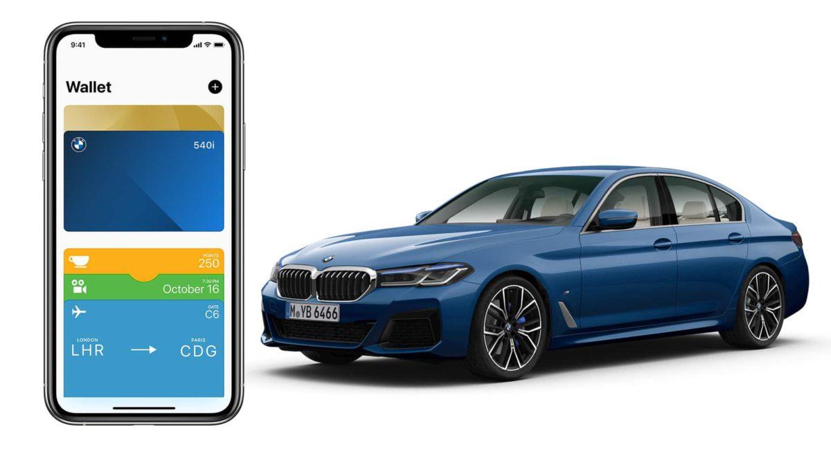CarKey 最終決定在 iOS 13.6 上釋出,支援 2021 年款 BMW 5 系房車。