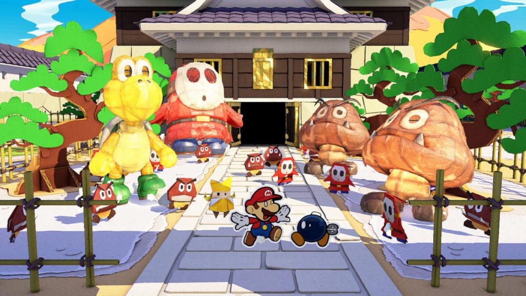 為拯救變成摺紙的公主, Mario 將會與同伴展開新旅程。