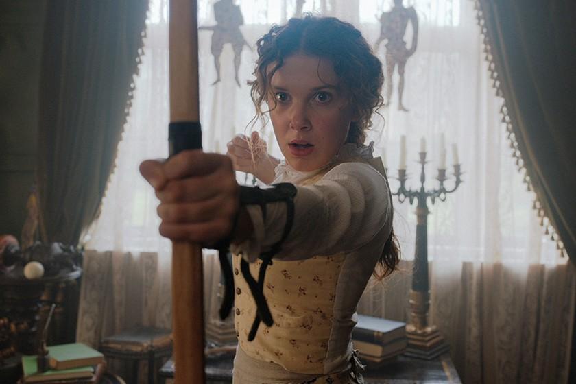 Millie Bobby Brown,將會在新作《Enola Holmes》中飾演福爾摩斯的妹妹