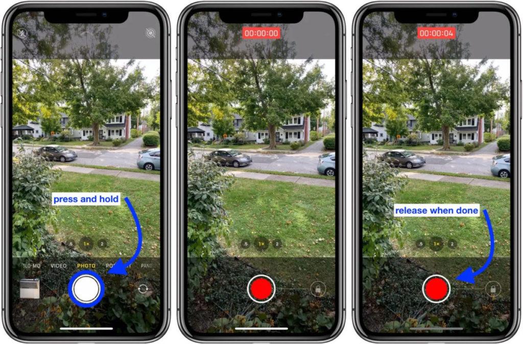 在升級 iOS 14 之後,連現有 iPhone XR, iPhone XS 及 iPhone XS Max 等型號都可以使用 QuickTake