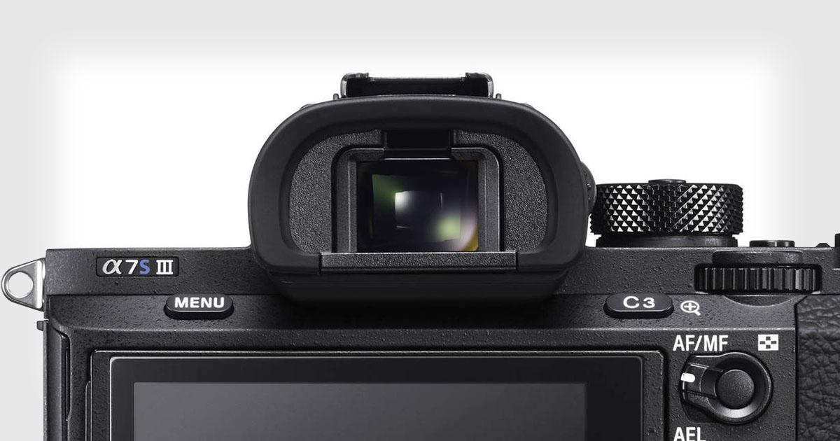 傳聞中 Sony A7sIII 將會備有全球最高解度的電子取景器。