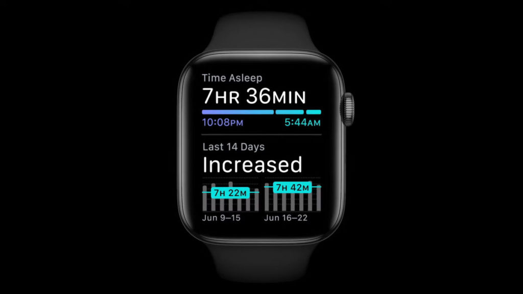 watchOS7 將會加入睡眠監測功能