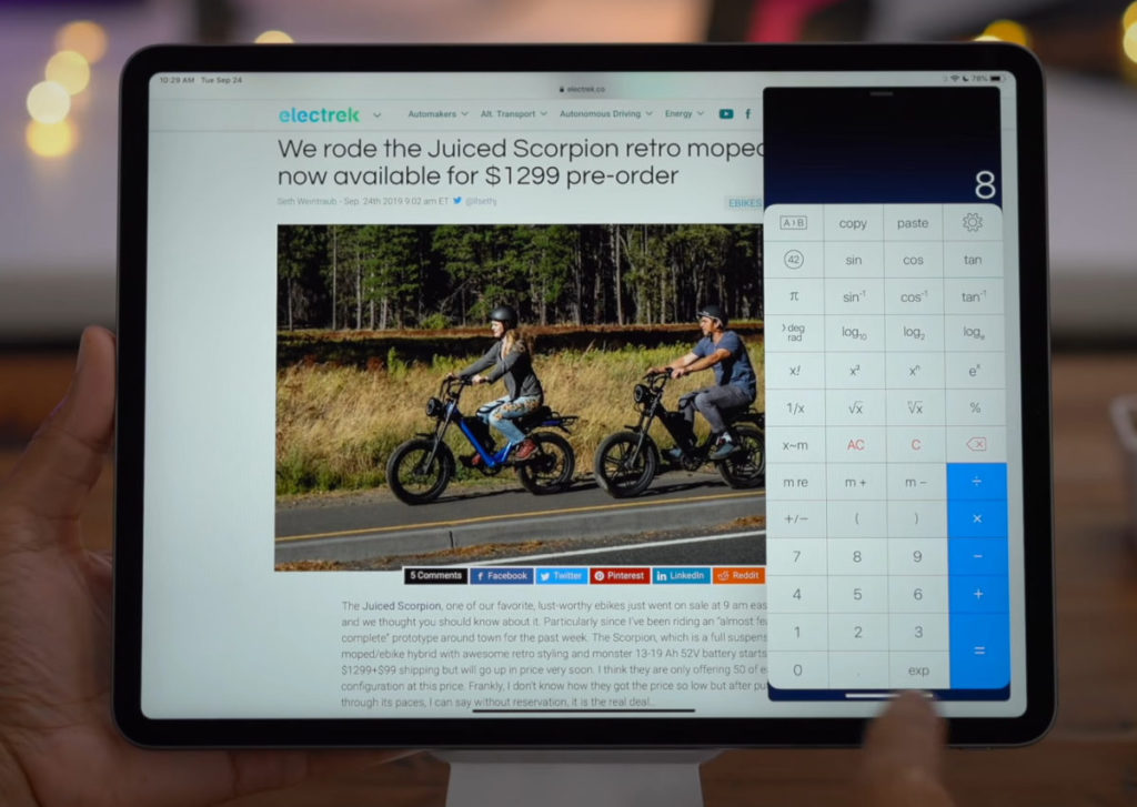 去年推出的 iPadOS 13,讓 iPad 能真正做多工作業,但不是所有第三方應用都會支援