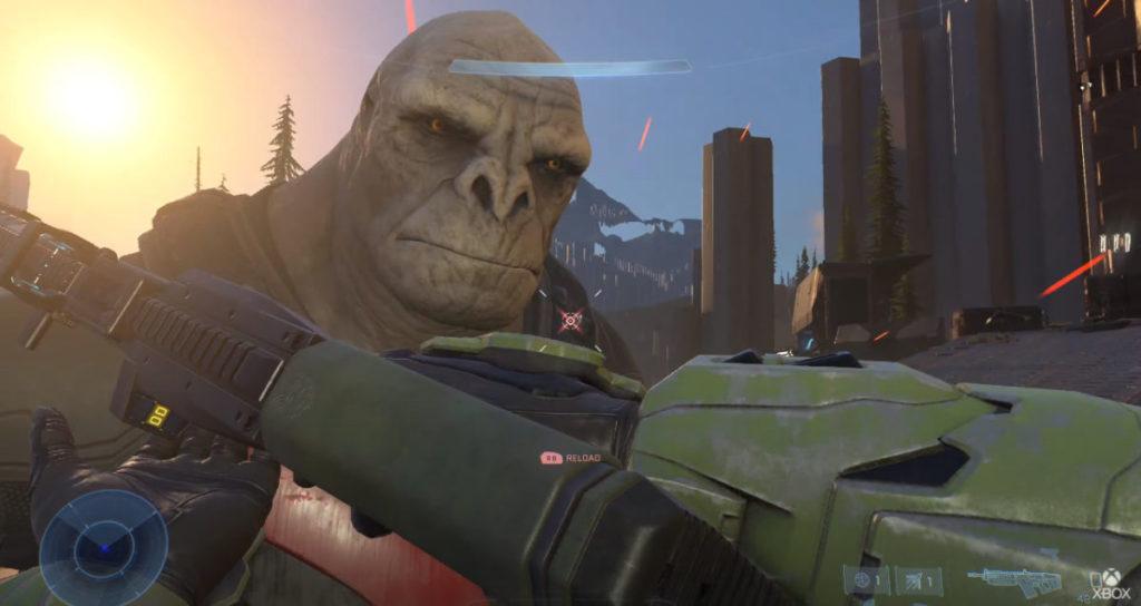 早前 《 Halo Infinite 》的示範影片除了環境能做到光線追蹤外,但其他人物模型、貼圖等等畫面卻受玩家的嚴重批擊。