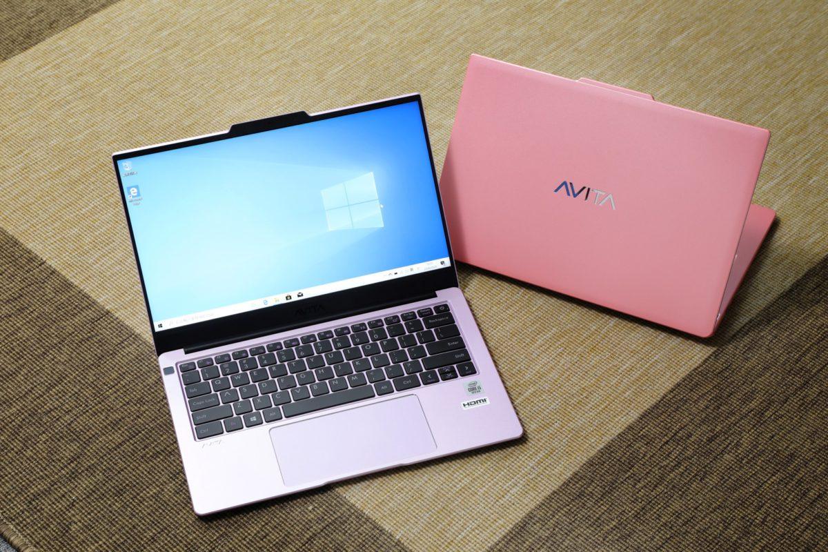活潑多變配色是 AVITA 筆電的特色
