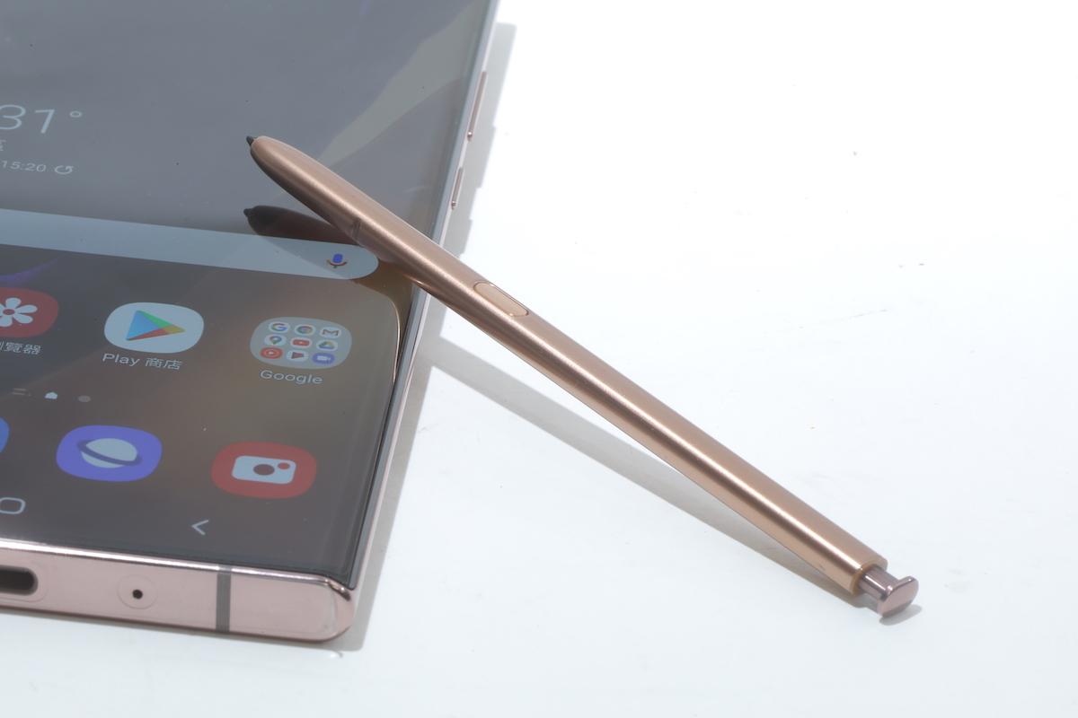 今代 S Pen 強化了陀螺儀同加速度感應器,以更高頻率去接收座標資訊,所以書寫感覺是更即時。