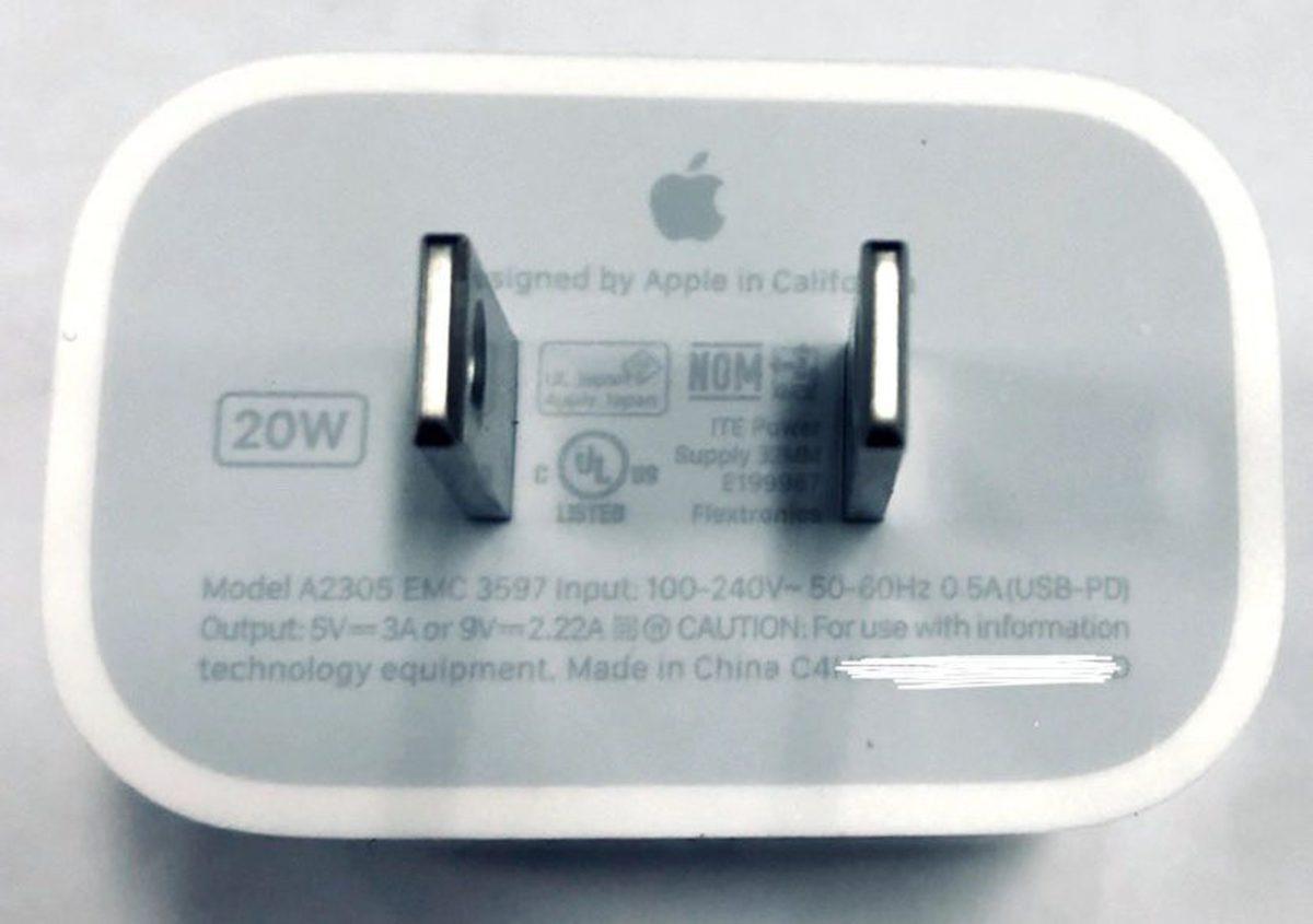早前蘋果大師郭明錤報告指 Apple 會獨立發售一款 20W 充電器。