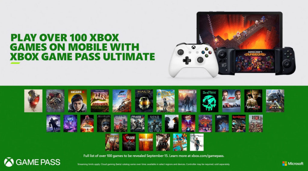 Xbox Game Pass Ultimate Project xCloud