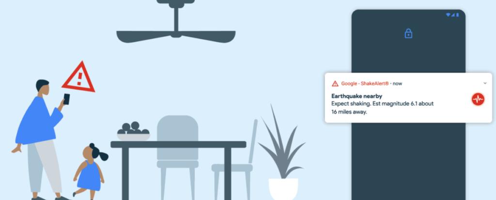 發生地震時,能及早接收訊息,儘管只是數秒,都可有效為用家爭取求生時間。