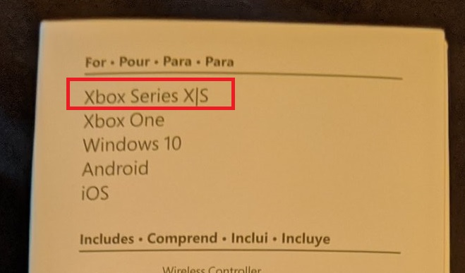 在支援機款上有寫「 Xbox Series X S 」。