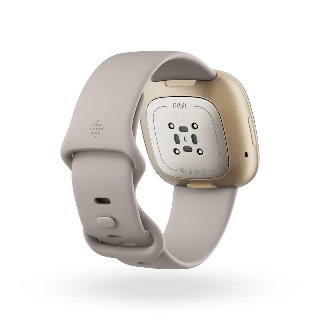 錶內更配備全新的皮膚電導反應(EDA)感應器,以量度皮膚電導反應,從而分析用戶處於那一個壓力狀態。