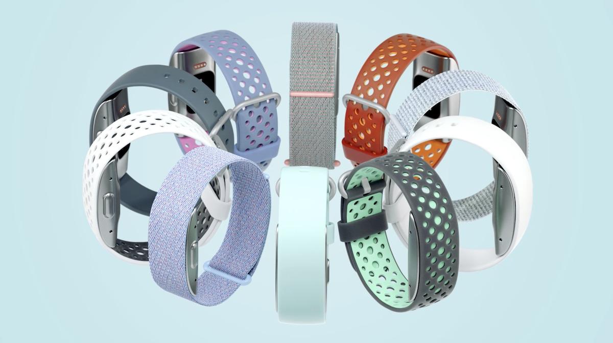 有多款顏色和物料的手帶可供選擇。
