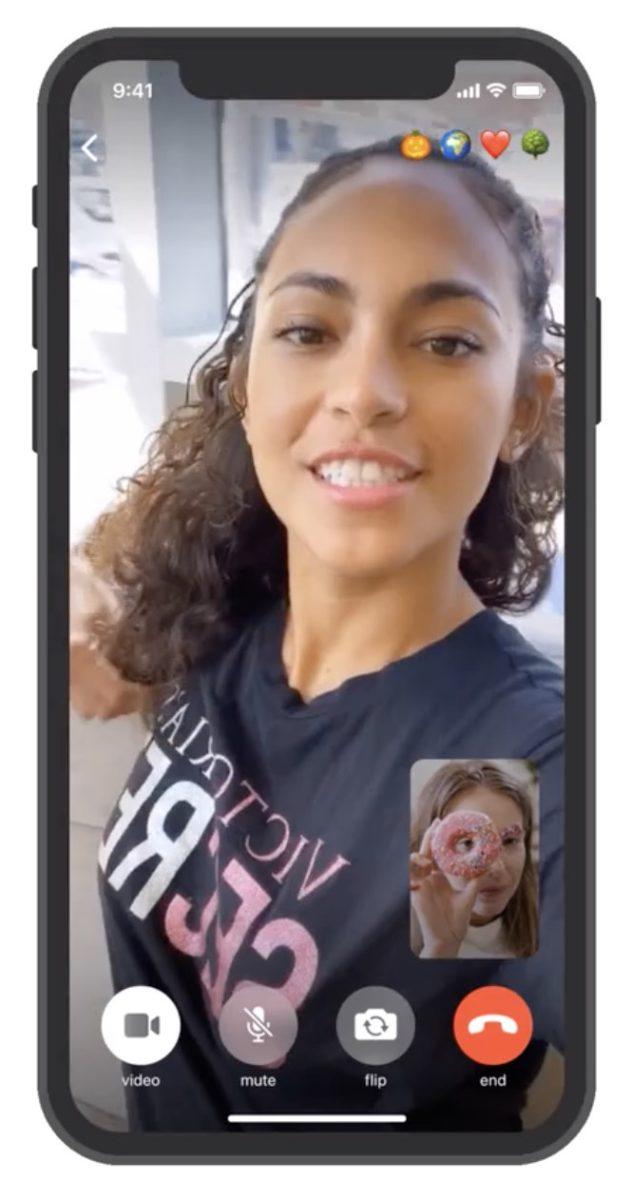 在1 對 1 端對端加密視像通信中,用戶可以隨意開關鏡頭和咪高峰,甚至切換成語音通信。