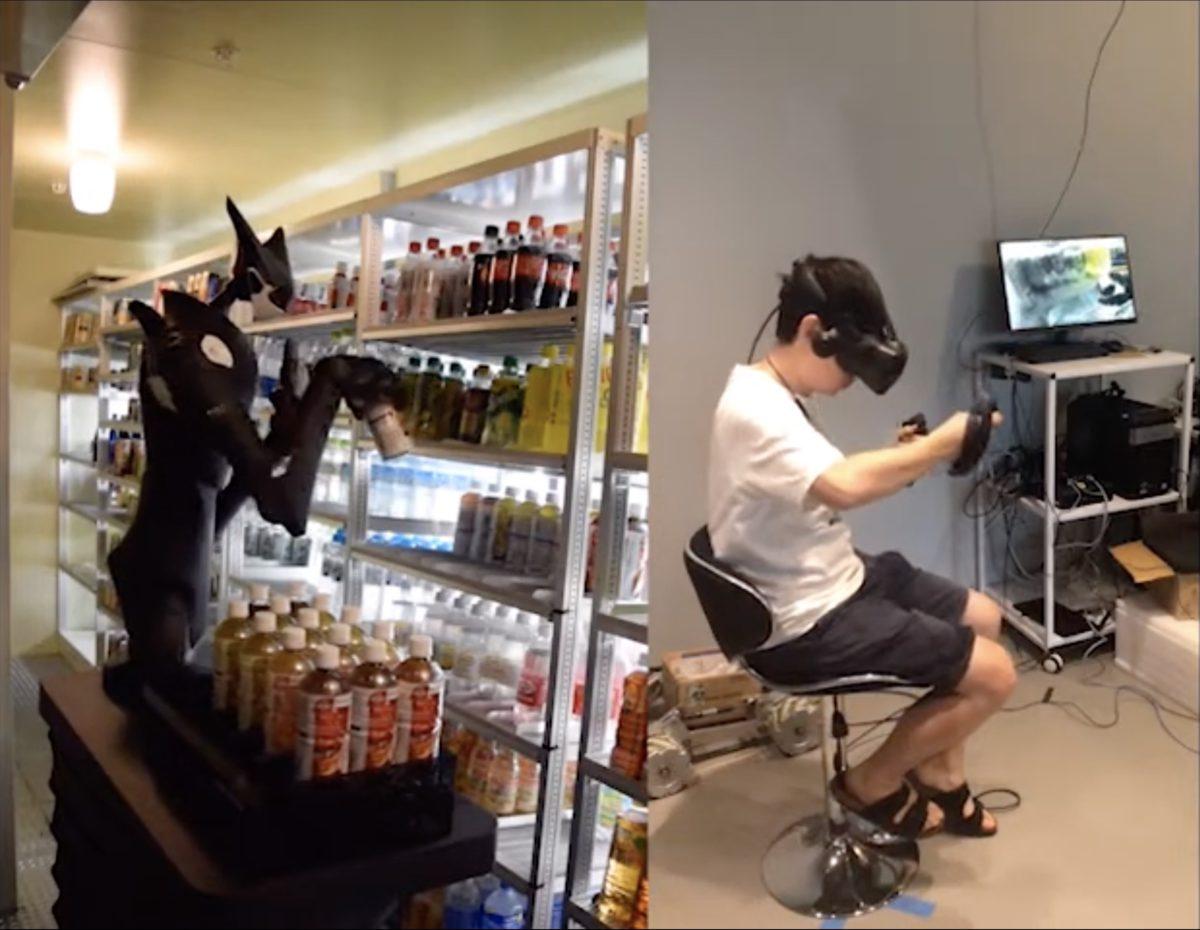 利用機械人和 VR 技術來遙距整理貨場,希望可以減少店舖人手,也提高招聘人手的自由度。