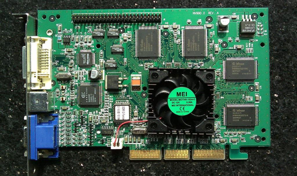 第一款 NVIDIA GeForce 顯示卡  GeForce 256 就是於近 21 年前的 8 月 31 日推出。