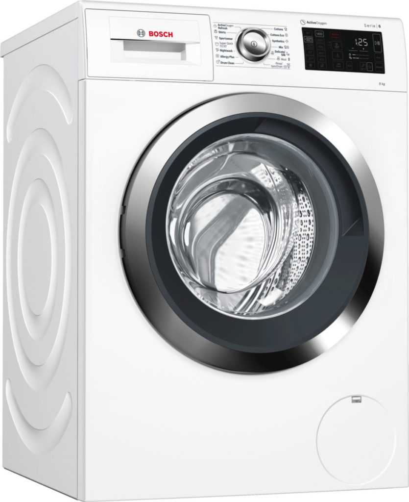 在水洗過程中同樣可以利用活氧來清理衣物上的細菌及化學殘留物