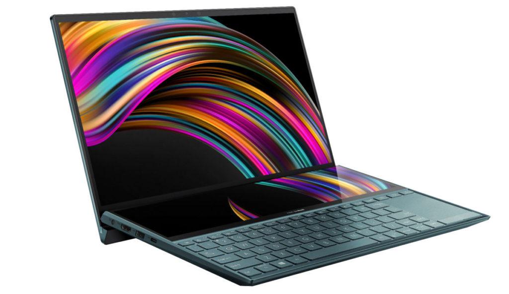 """鍵盤上方的 12.6"""" ScreenPad Plus 觸控屏幕不單可以作為副屏幕,更可以提供更靈活的使用體驗"""