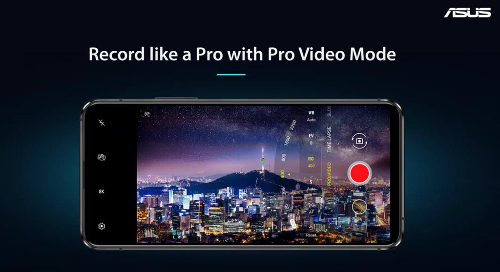 支援 8K 錄影及 4K 120fps 慢動作錄影,亦有 Pro Video Mode 可使用。
