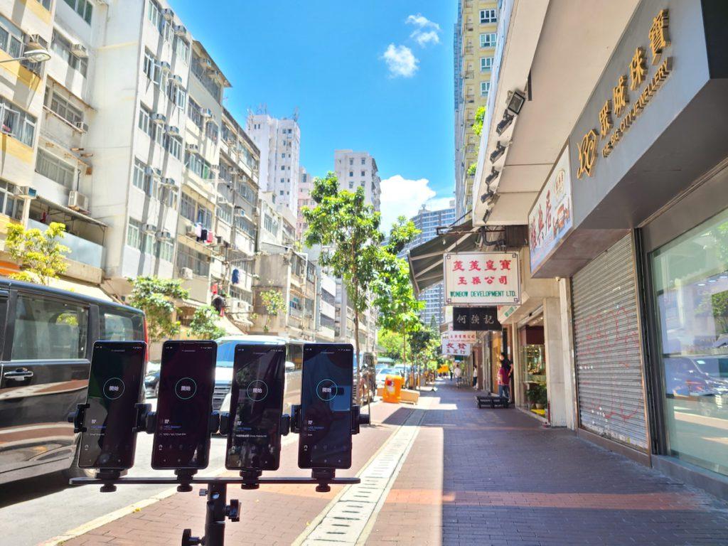 佐敦廣東道 5G 測速