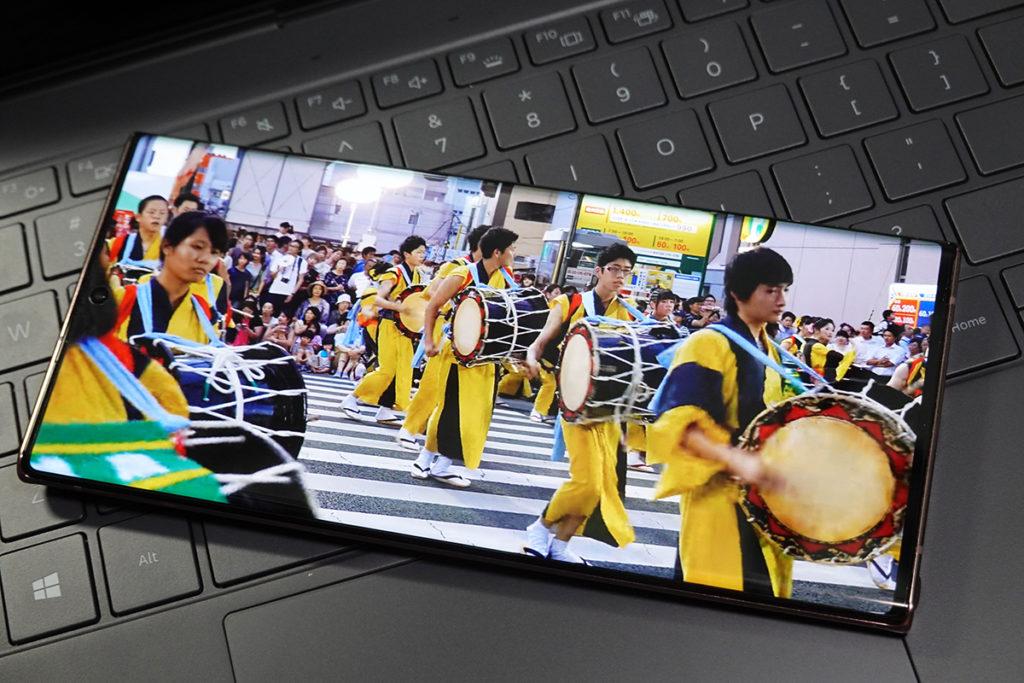 Galaxy Note20 Ultra 的 Display Power Efficiency 比上代 Note10+ 高出 16% 。