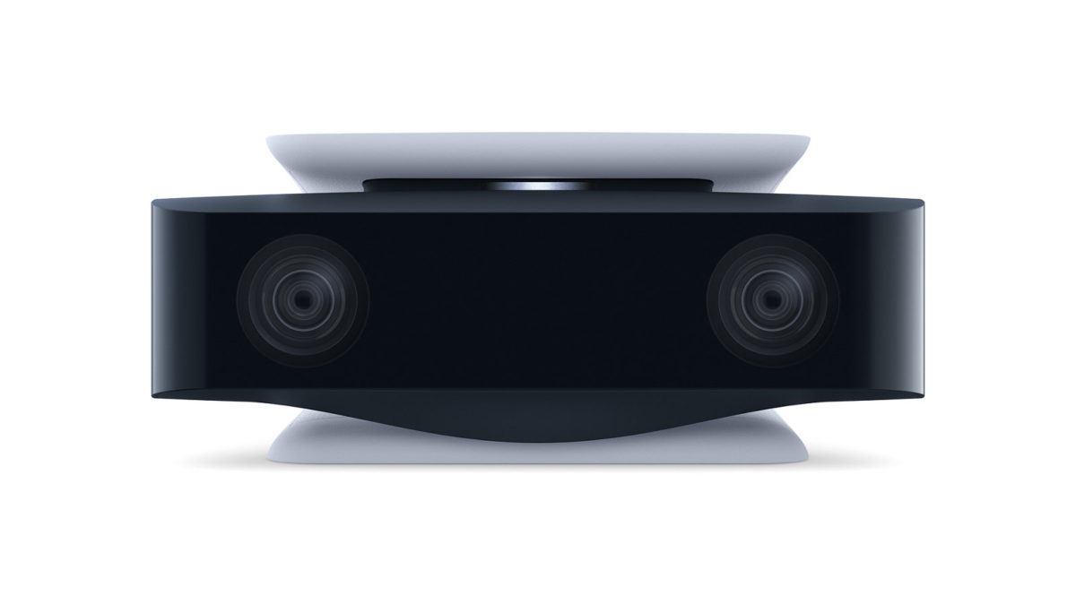 HD 攝錄機備有雙鏡頭,可配合 PS5 主機的去背景工具來褪出用戶的頭像作直播。