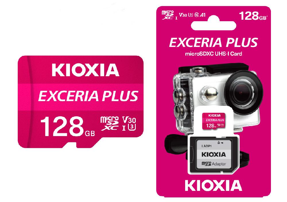 KIOXIA Exceria Plus UHS-I microSDXC 記憶卡