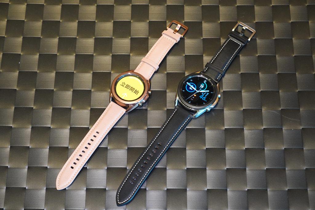 Galaxy Watch 3 分為 45mm 及 41mm 兩款,以及有 LTE 版與藍牙版選擇(41mm只有藍牙版本)。