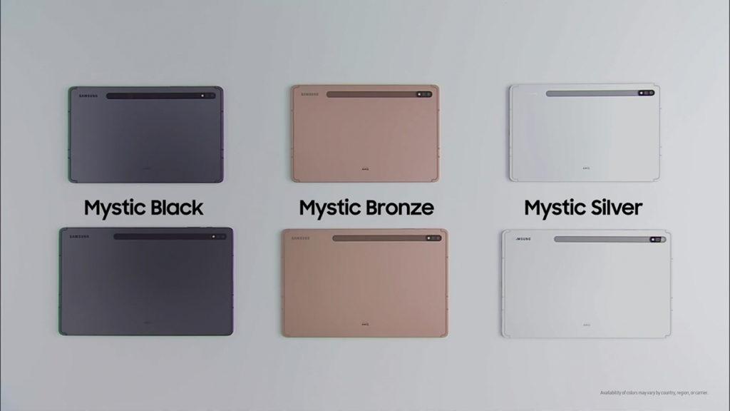 備有 Mystic Bronze、Mystic Black 及 Mystic Sliver 三款顏色選擇。