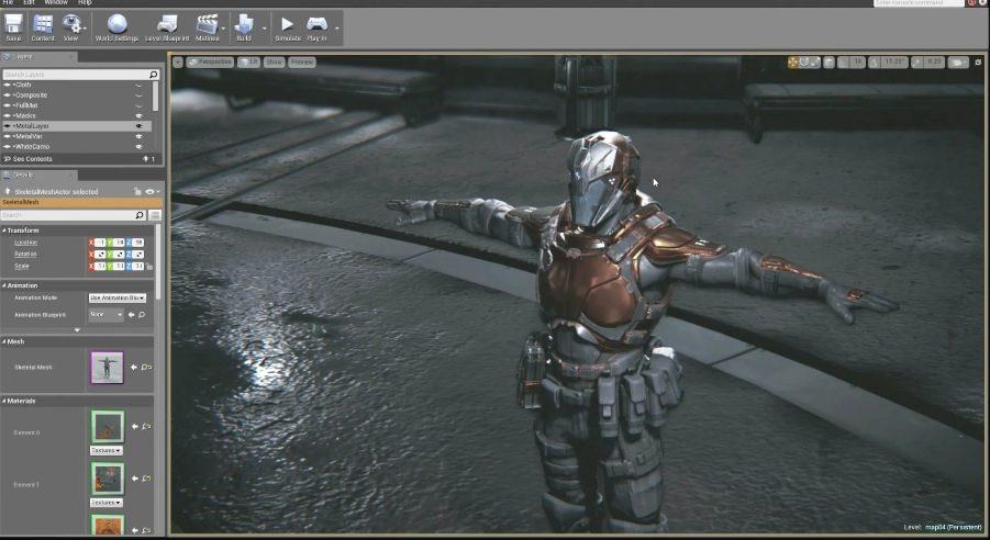 Unreal Engine 是很多 AAA 大作遊戲所採用的遊戲引擎,也是遊戲課程中其中一款主流遊戲引擎,不少遊戲開發人就是以它來受訓的。