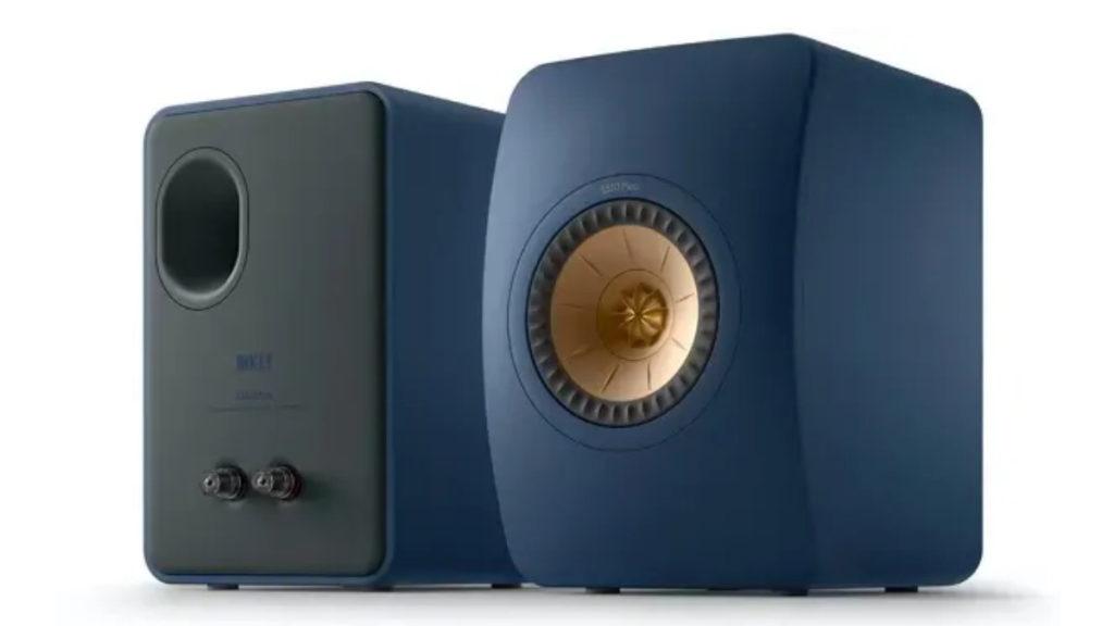 LS50 Meta 設計比上代更簡約,而且更加入全新的 Royal Blue