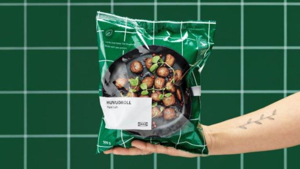 急凍植物素肉丸只售 $49 / 包