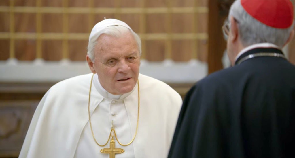 Netflix 劇集《The Two Popes》劇照