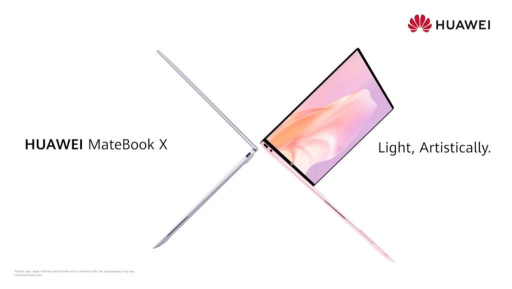 主打輕巧的 MateBook X