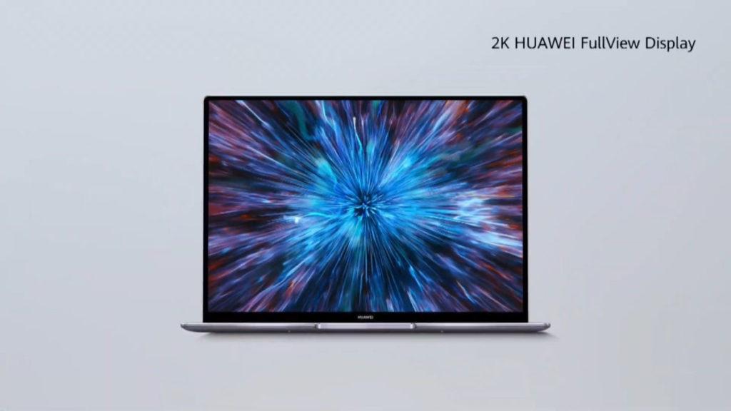 HUAWEI 全新 MateBook 14 同樣彩極窄邊框設計