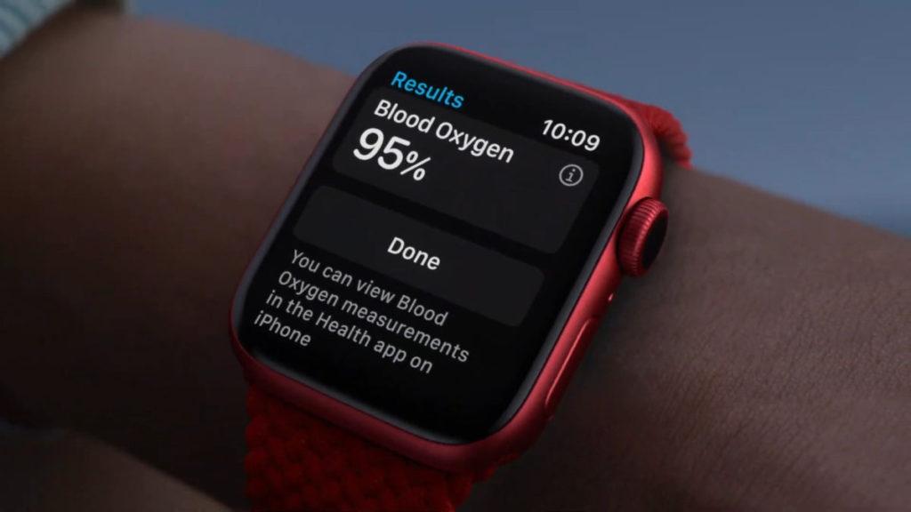 Apple 發表最新的 Apple Watch Series 6,並主打其血氧檢測功能