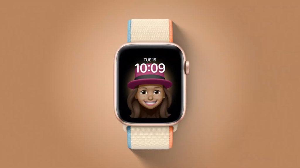 活潑有趣的 memoji 錶面