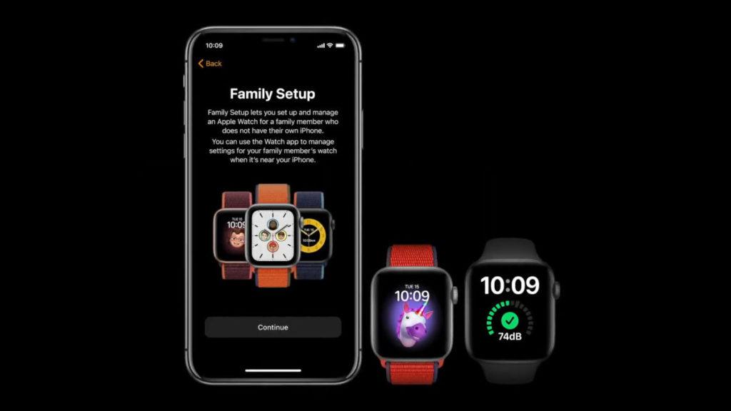 全新的 Family Setup 讓沒有使用 iPhone 的家人都可以使用 Apple Watch