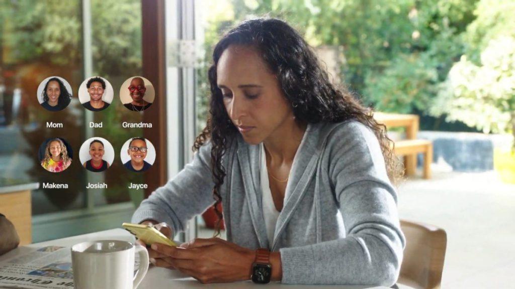 透過 Family Setup 將家中不同成員手上的 Apple Watch 連結起來,可以更容易掌握家人的位置和動向