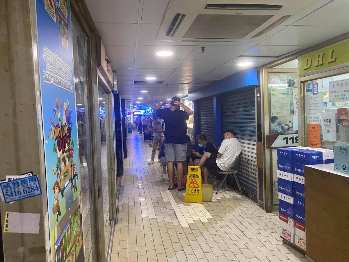 屯門利寶商場也出現訂購人潮。