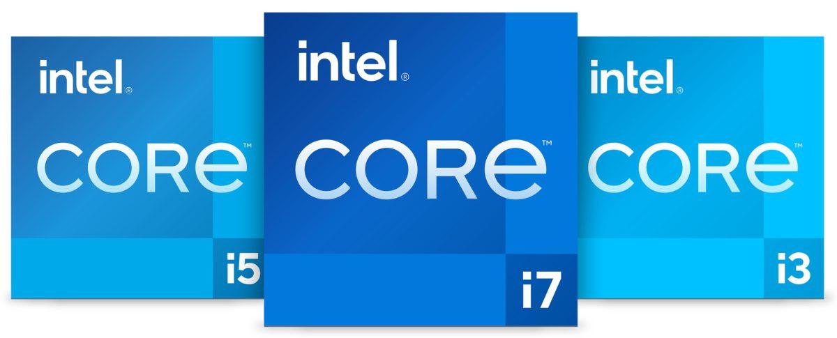 代表第 11 代 Core 的全新 logo