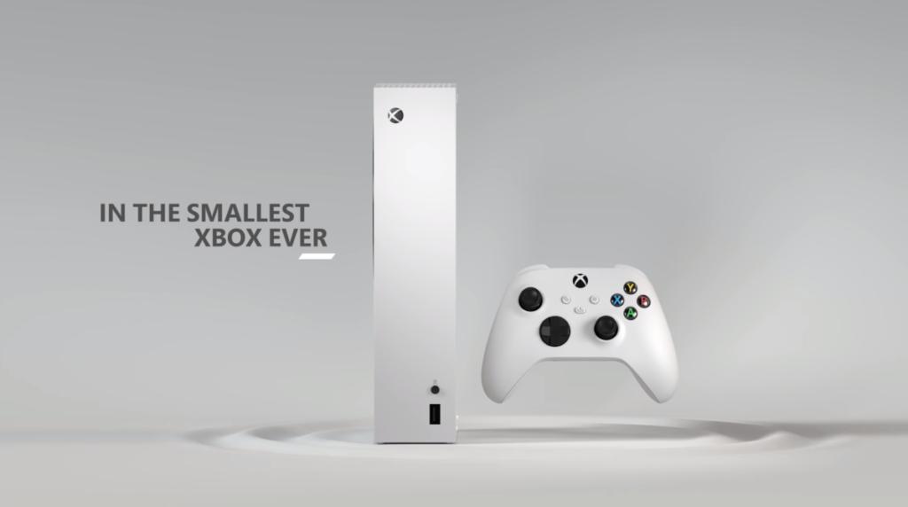 官方稱  Series S 為最小的 Xbox 主機。