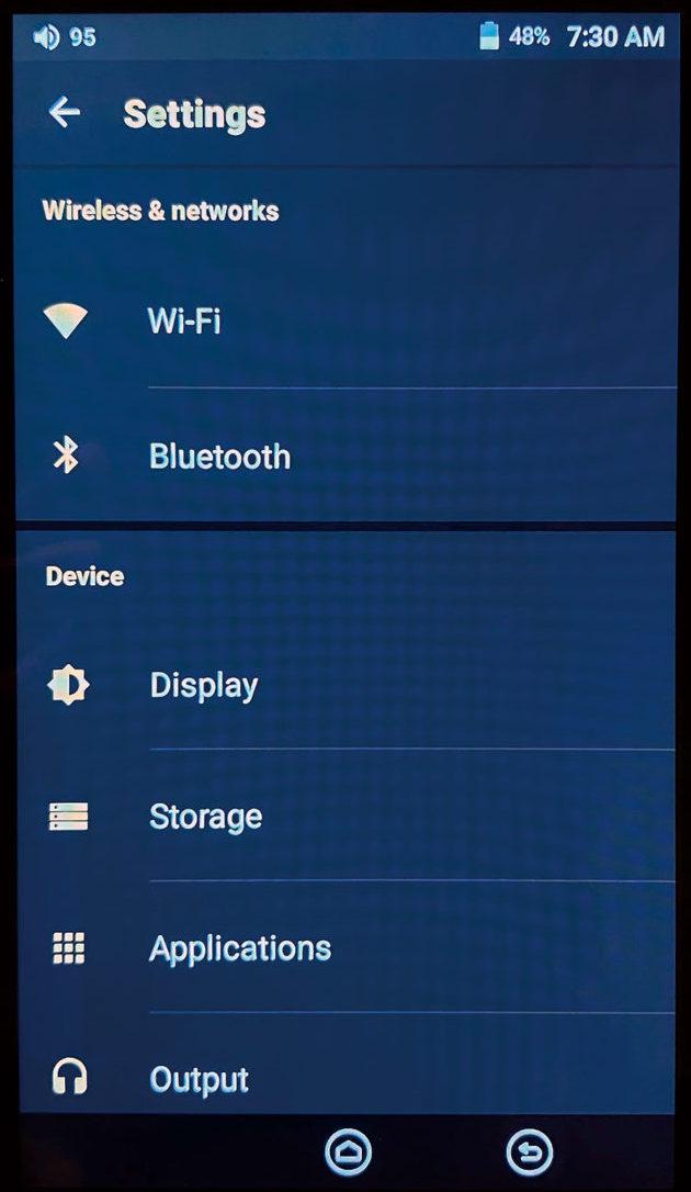 設定介面比較簡單,甚至可設定的細節其實也不多。