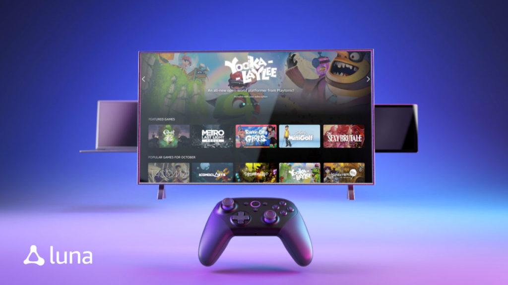 Amazon 也參入雲端串流遊戲市場,推出 Luna 平台。