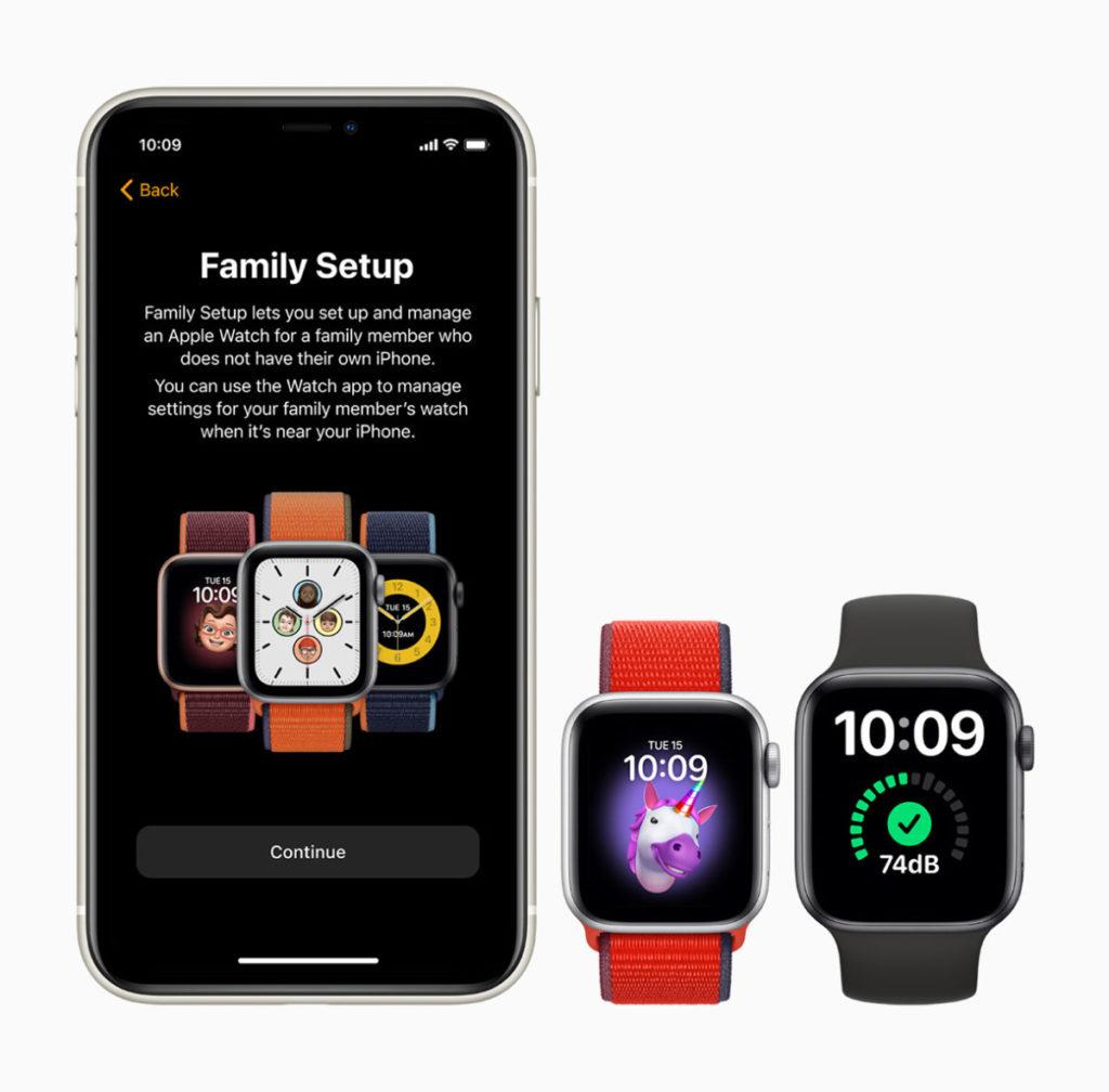 支援Family Setup 功能,可以用自己的 iPhone 為家中沒有 iPhone 的小朋友或長者配對手錶。