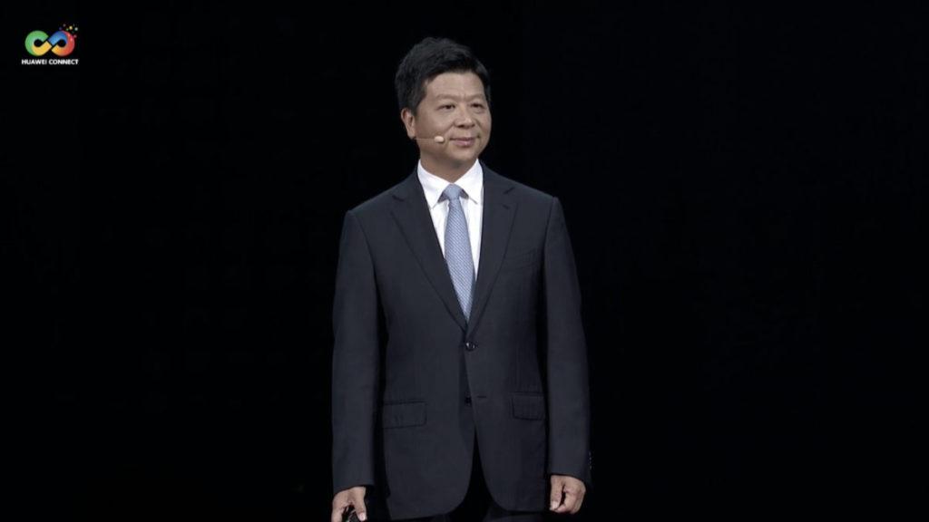郭平表示,華府應重新考慮制裁禁令,以免影響全球供應鏈產業。