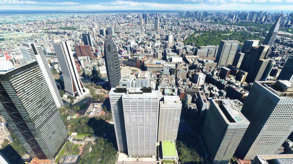 東京新宿新都廳一帶