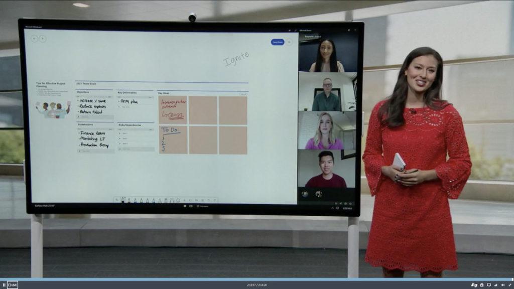 Surface Hub 2S 為 82 吋熒幕互動設備。