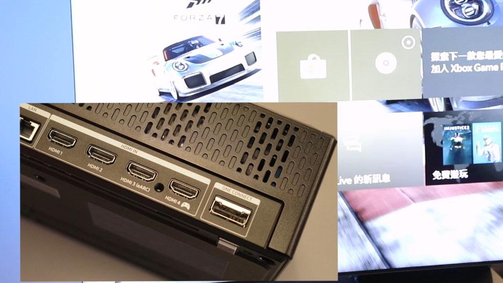 Samsung QLED 8K Q950TS hdmi
